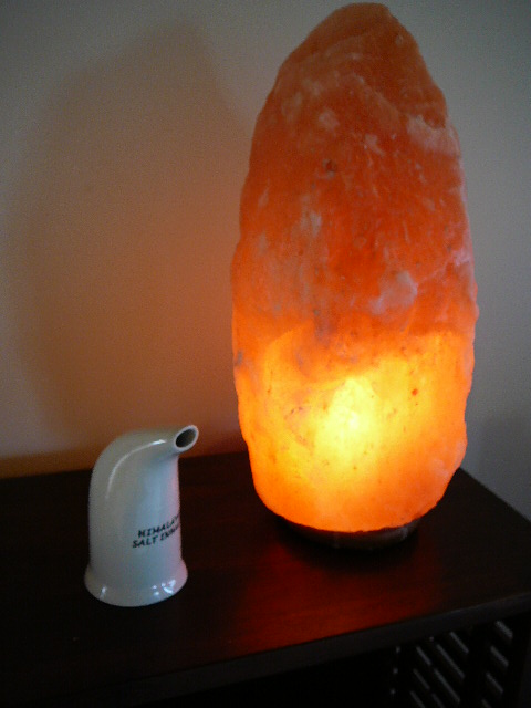 Do Salt Lamps Help Asthma : HIMALAYAN DRY SALT INHALER with PACKED GROUND SALT INCLUDES FREIGHT. (Lamp)