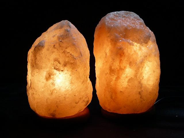 Safe himalayan salt lamps 2 x 2 3kg freight incl for Certified himalayan salt lamp