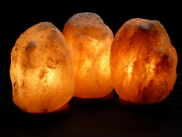SAFE HIMALAYAN SALT LAMPS 3x2-3kg USD 17.65 each Aust Certified AS/NZS 60598.2.4 eBay