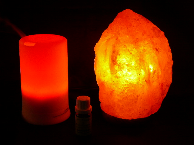 Salt Lamps Red Dot : HIMALAYAN SALT LAMP, AROMATHERAPY PACK & INNER PEACE OIL 10% OFF - Great Health Gift - USD 115.50 ...