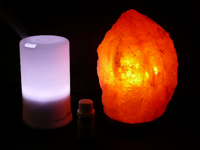 SAFE SALT LAMP, AROMATHERAPY PACK & INNER PEACE OIL 5% OFF - Free Freight eBay