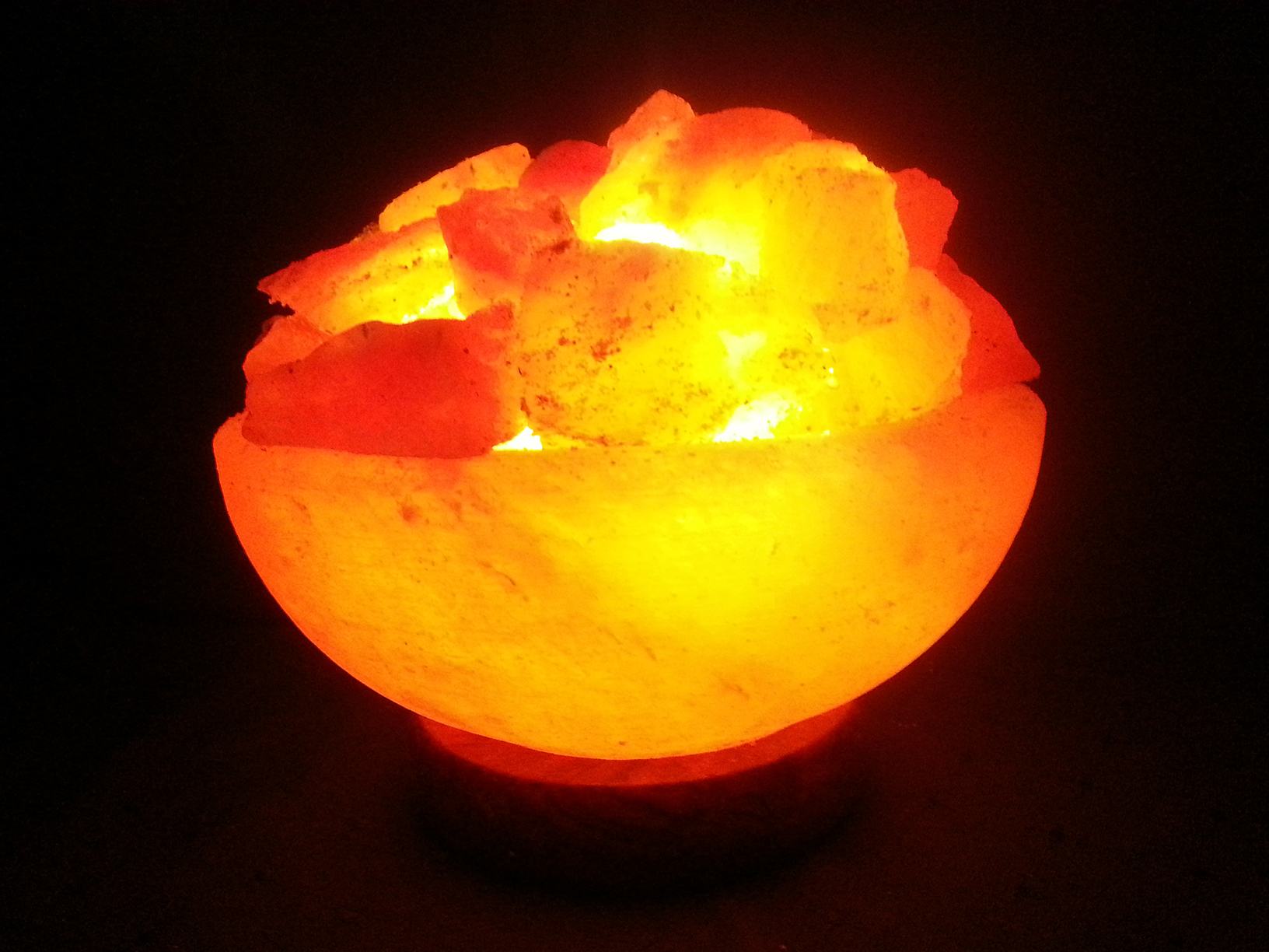Fire Bowl Salt Lamp - Small 3-4kg