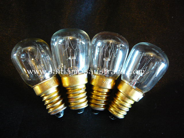 4 x Salt Lamp Globes 15watt - 12.5% Discount