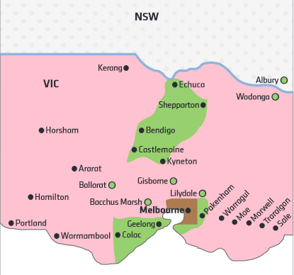 VIC Regional - Green Zones : Salt Lamps Australia, Himalayan Salt Lamps & other Elements of the ...