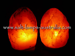 2 x 3-4kg Salt Lamps ($16.00 each. Normally $20.00) - 20% OFF