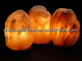 3 x 3-4kg Salt Lamps ($15.60 each in cart. Normally $20.00) - 22.5% OFF