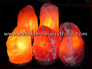 5 x 2-3kg Salt Lamps ($15.84 each. Nomally $17.50)