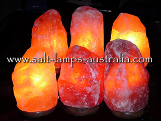 6 x 2-3kg Salt Lamps ($13.65 each in Cart. Nomally $17.50) - 22.5% OFF