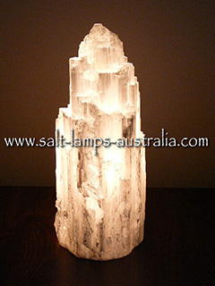 Selenite Lamp Extra Large - Limited Stock