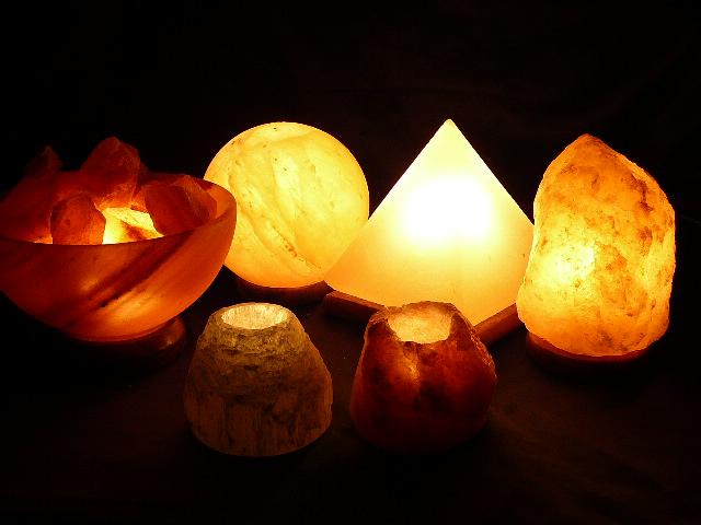 Salt Lamps Variety